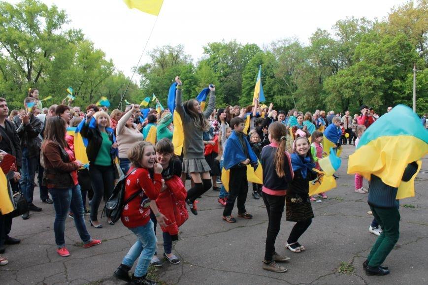 Сотні мешканців м. Селидове зібралися на патріотичному концерті, фото-6