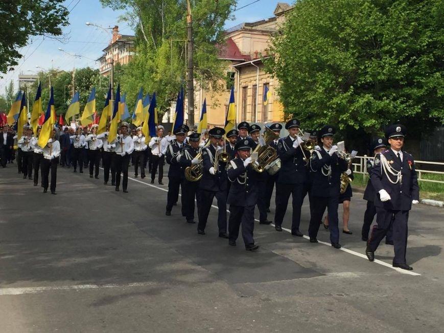 В Херсоне по улицам города прошел торжественный марш-парад (фото), фото-2
