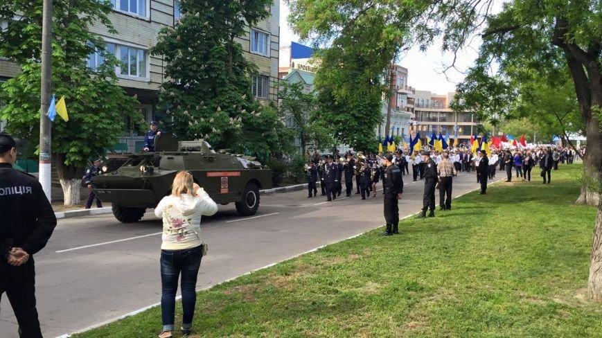 В Херсоне по улицам города прошел торжественный марш-парад (фото), фото-4