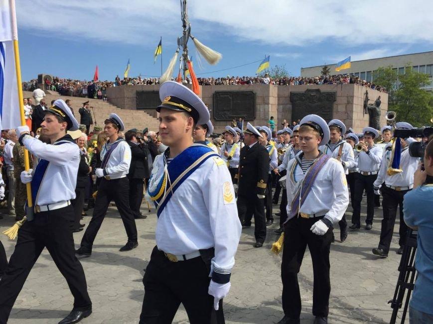 В Херсоне проходит торжественный митинг (фото), фото-1
