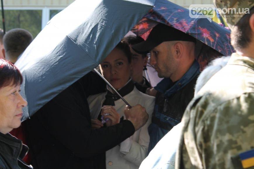 В Славянске Королевскую облили зеленкой и посыпали мукой (ФОТО), фото-3