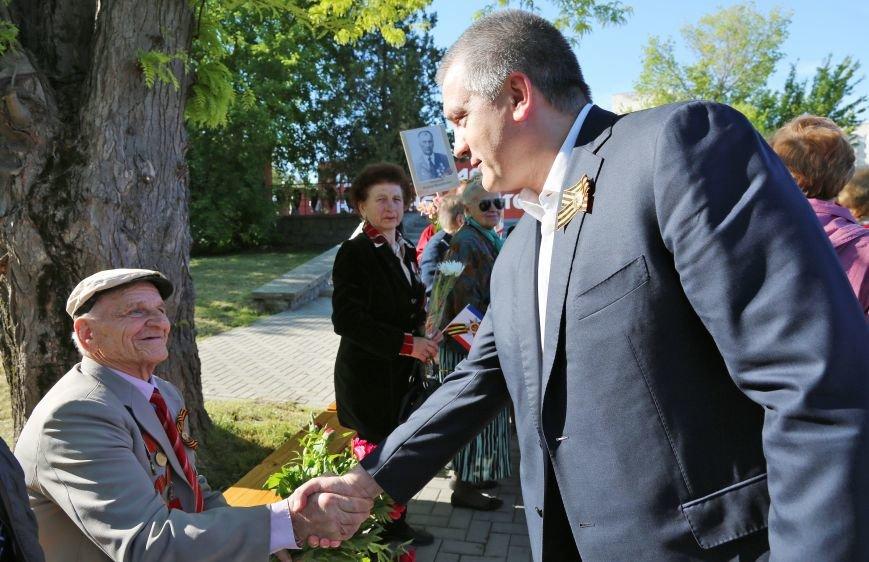 В Симферополе прошли мероприятия, посвящённые Дню Великой Победы в Великой Отечественной войне (ФОТО), фото-2