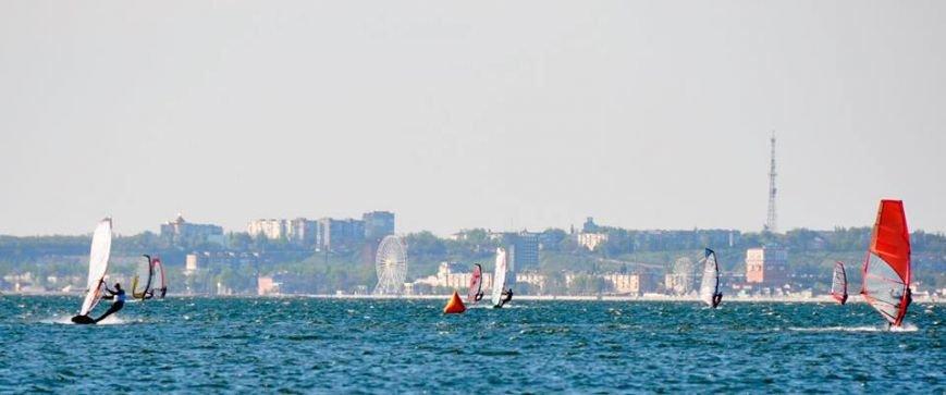 Победителем среди мастеров по виндсерфингу стал спортсмен из Бердянска, фото-10