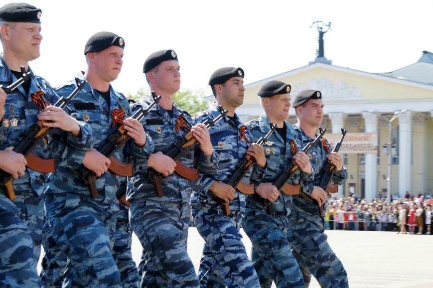 Белгородцы отпраздновали День Победы парадом и шествием «Бессмертного полка», фото-11