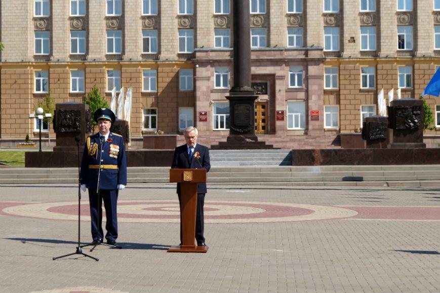 Белгородцы отпраздновали День Победы парадом и шествием «Бессмертного полка», фото-9