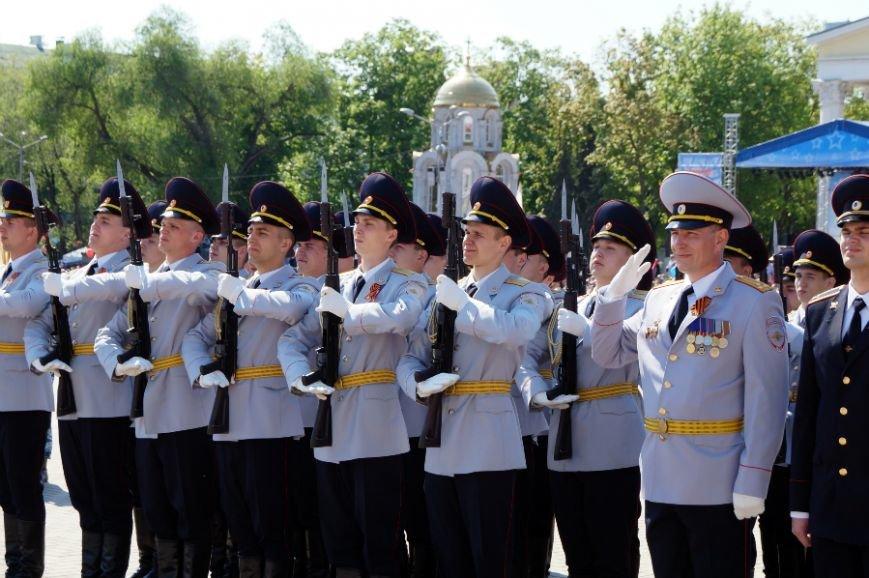 Белгородцы отпраздновали День Победы парадом и шествием «Бессмертного полка», фото-10