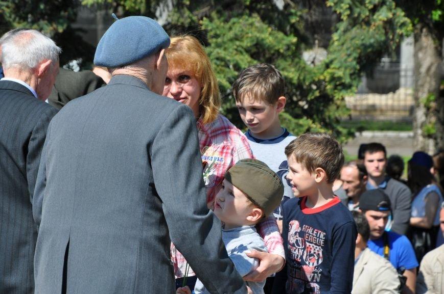 Краматорская «Свобода» очищала митинг от георгиевских лент (ВИДЕО), фото-8
