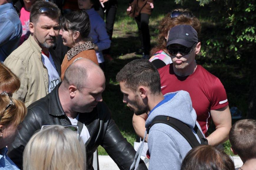 Краматорская «Свобода» очищала митинг от георгиевских лент (ВИДЕО), фото-13