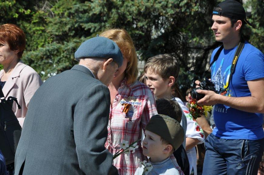 Краматорская «Свобода» очищала митинг от георгиевских лент (ВИДЕО), фото-9