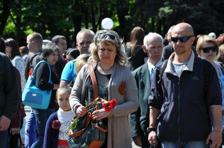 Краматорская «Свобода» очищала митинг от георгиевских лент (ВИДЕО), фото-7