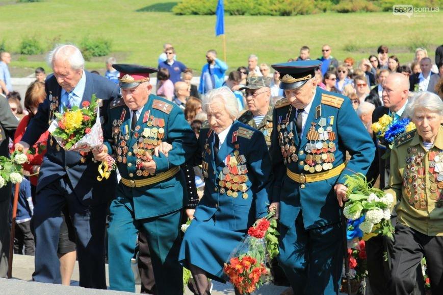В Днепродзержинске почтили память погибших во Второй мировой войне, фото-5