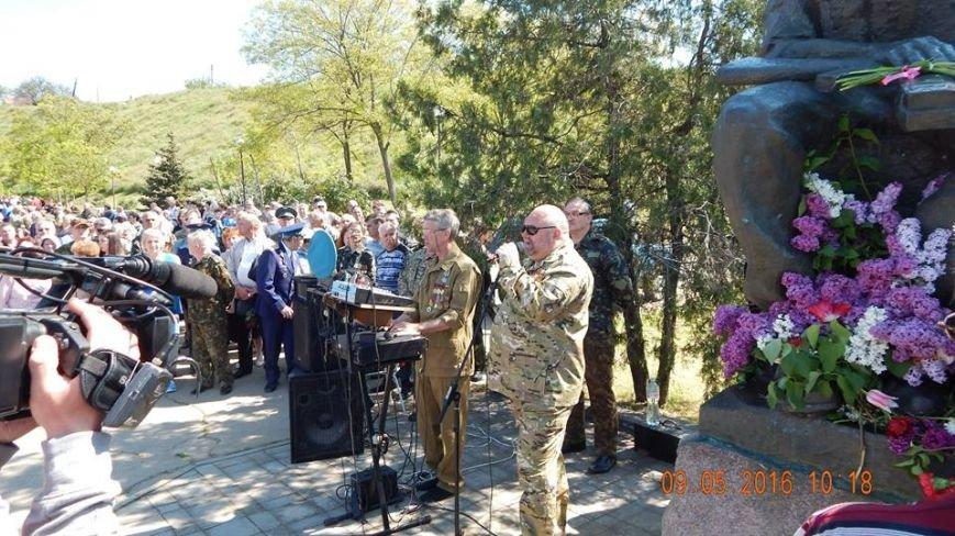 В Бердянске отмечали День Победы, фото-8