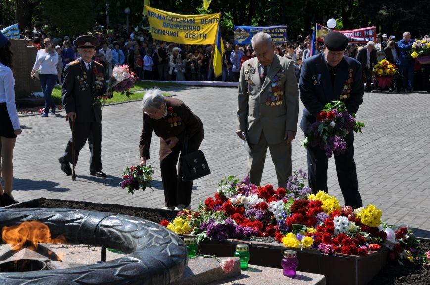 Краматорск отметил День победы над нацизмом, фото-11