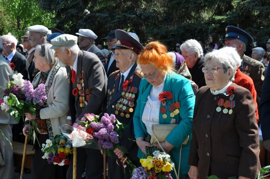 Краматорск отметил День победы над нацизмом, фото-8