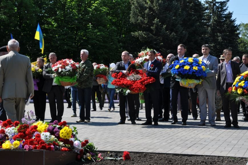 Краматорск отметил День победы над нацизмом, фото-12