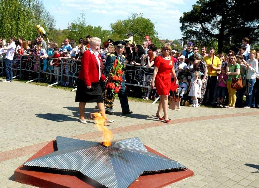 У Кургана Бессмертия в Полоцке прошла акция «Поклонимся великим тем годам…», фото-2