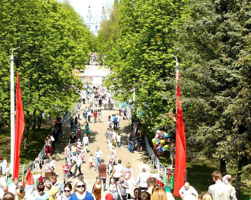У Кургана Бессмертия в Полоцке прошла акция «Поклонимся великим тем годам…», фото-11
