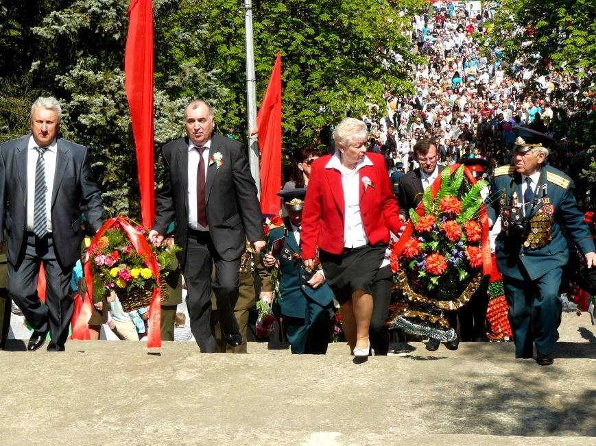 У Кургана Бессмертия в Полоцке прошла акция «Поклонимся великим тем годам…», фото-1