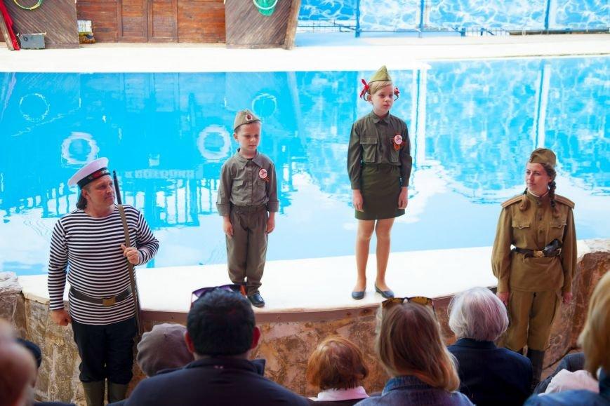 "Ялтинским ветеранам представили ""военную"" программу театра ""Акватория"", фото-1"