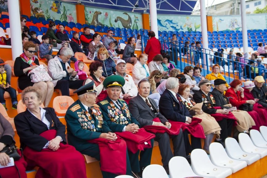 "Ялтинским ветеранам представили ""военную"" программу театра ""Акватория"", фото-12"