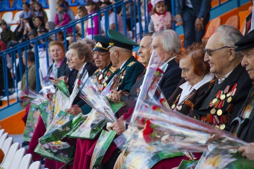"Ялтинским ветеранам представили ""военную"" программу театра ""Акватория"", фото-10"