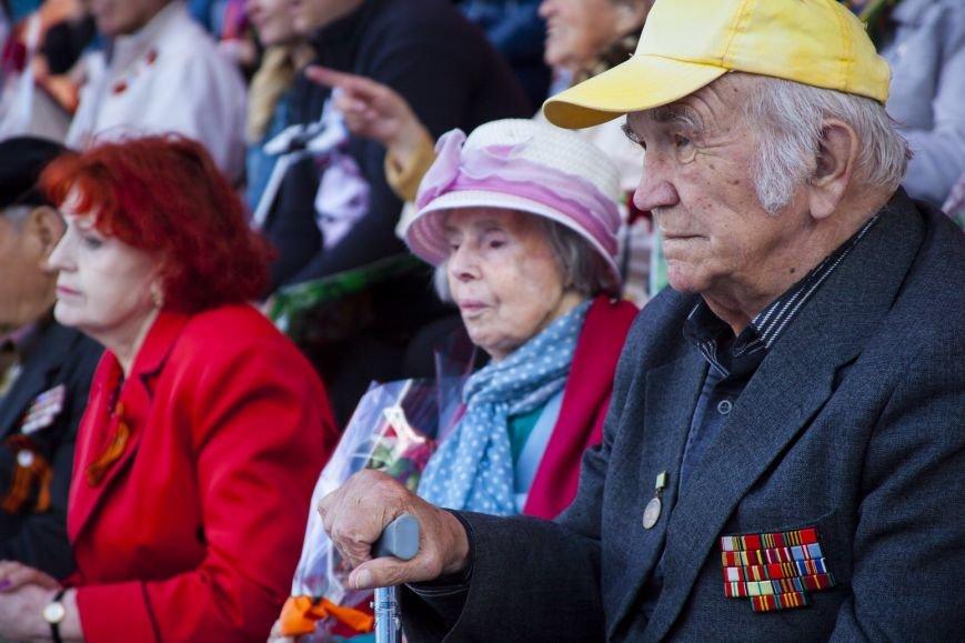 "Ялтинским ветеранам представили ""военную"" программу театра ""Акватория"", фото-9"