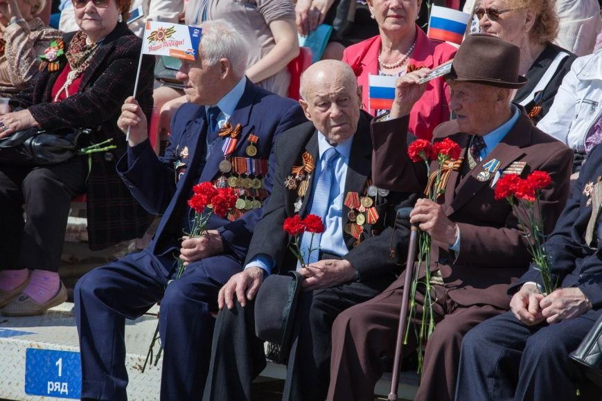 Парад Победы собрал тысячи ульяновцев. ФОТО, фото-8