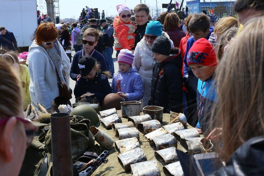 «Послания с солдатских котелков» дошли до жителей в Южно-Сахалина, фото-1
