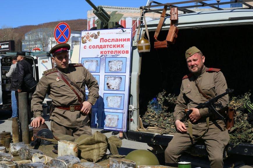«Послания с солдатских котелков» дошли до жителей в Южно-Сахалина, фото-2