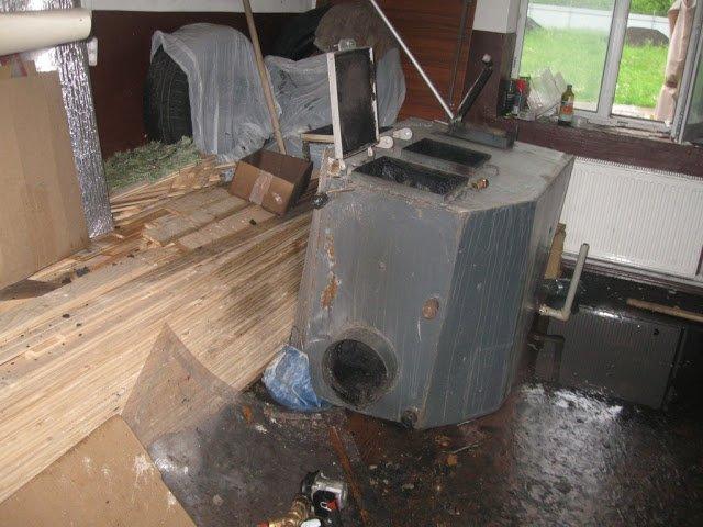 От взрыва котла в Черниговской области погибла женщина, фото-1