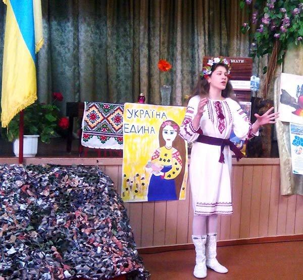Волонтеры рассказали об АТО новокаховским школьникам (Фото), фото-3