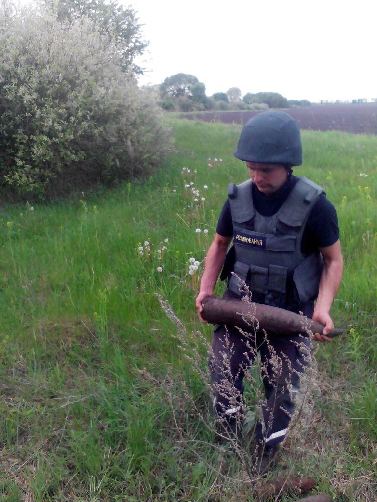 На Черниговщине нашли и уничтожили четыре снаряда времен войны, фото-1