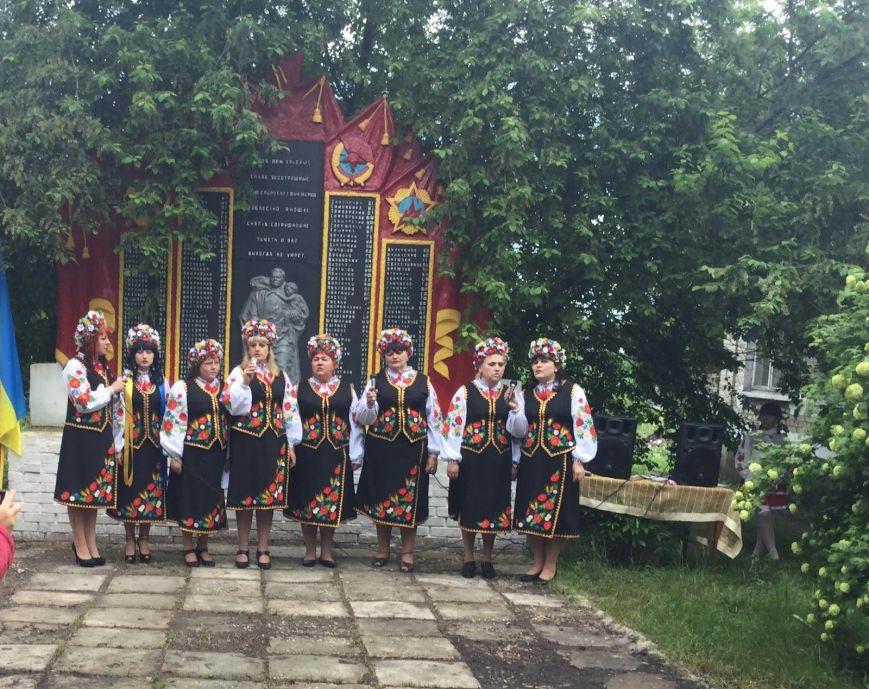 В Добропольском районе почтили память героев Великой Победы, фото-7
