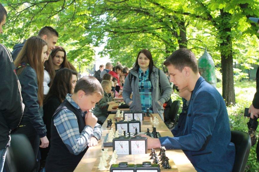 Шахматно-шашечный турнир в городе Доброполье, фото-5
