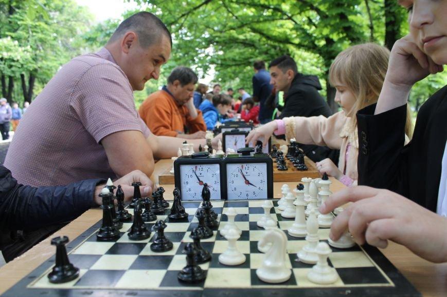 Шахматно-шашечный турнир в городе Доброполье, фото-3
