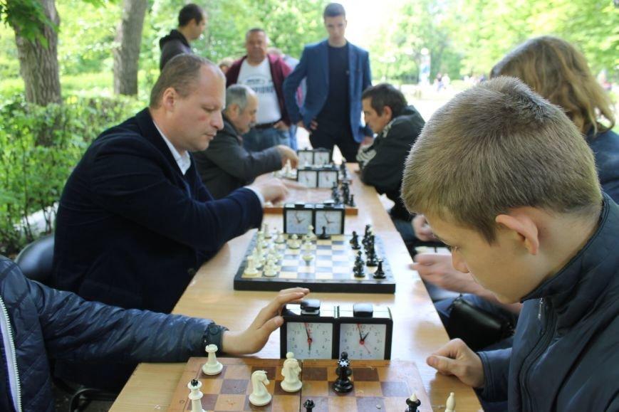 Шахматно-шашечный турнир в городе Доброполье, фото-2