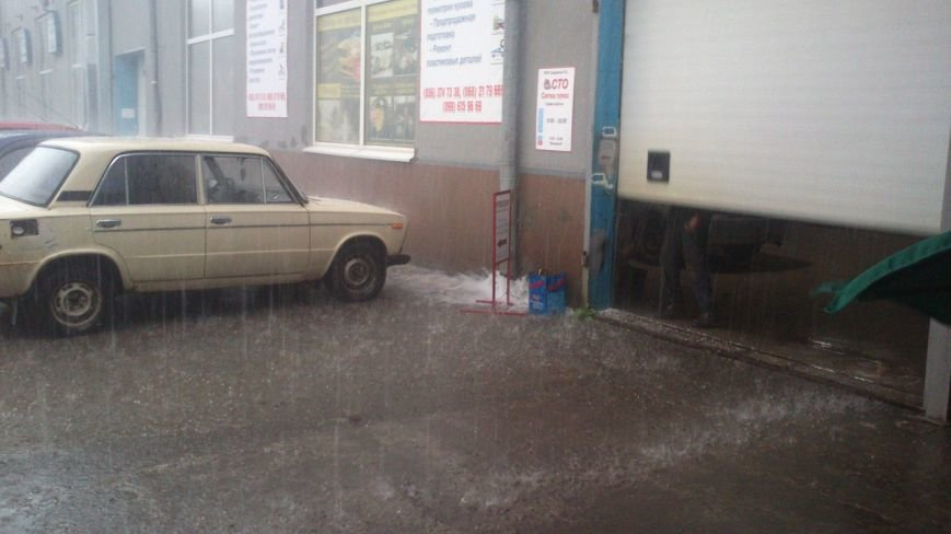 Днепропетровск засыпало градом (ФОТО), фото-12