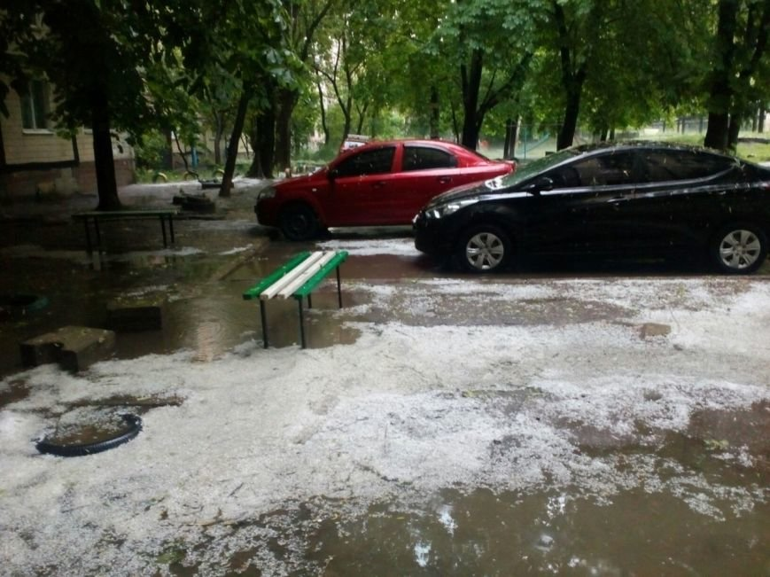 Днепропетровск засыпало градом (ФОТО), фото-10