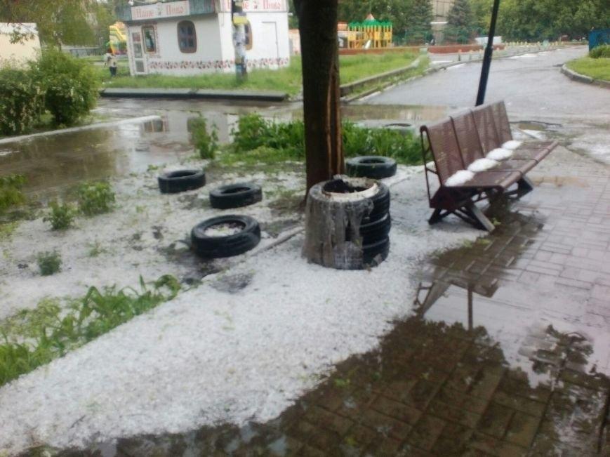 Днепропетровск засыпало градом (ФОТО), фото-6