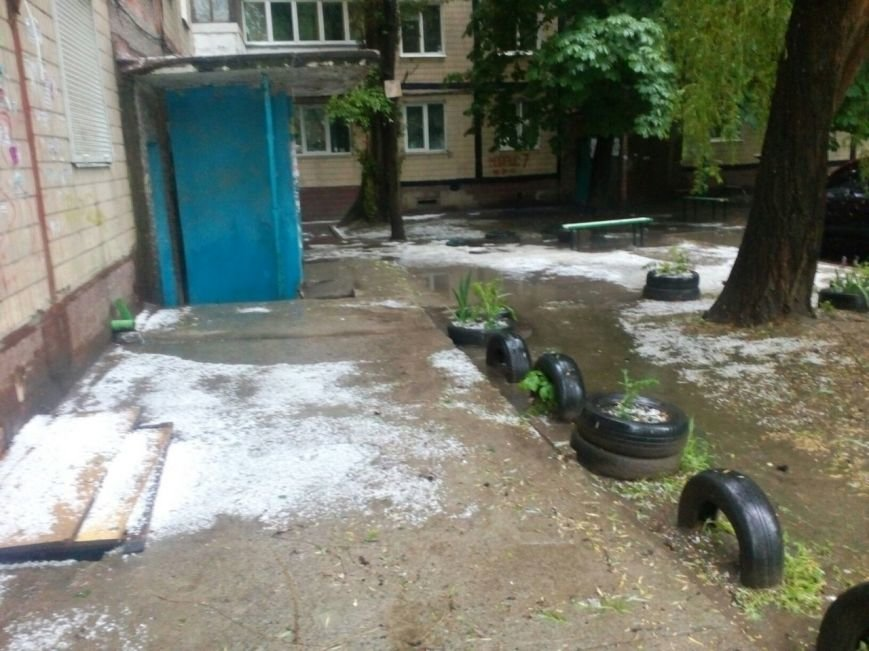Днепропетровск засыпало градом (ФОТО), фото-9