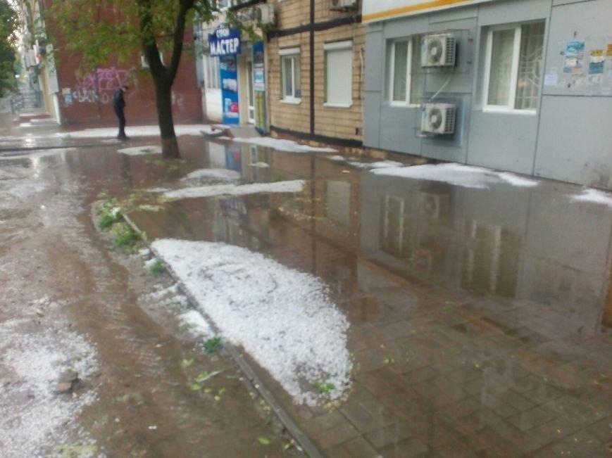 Днепропетровск засыпало градом (ФОТО), фото-3