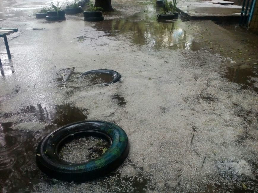 Днепропетровск засыпало градом (ФОТО), фото-2