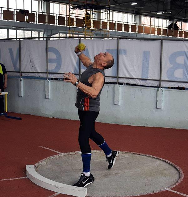 64-летний кахоовчанин Петр Ивасюк – серебряный призер среди ветеранов-метателей (Фото), фото-1