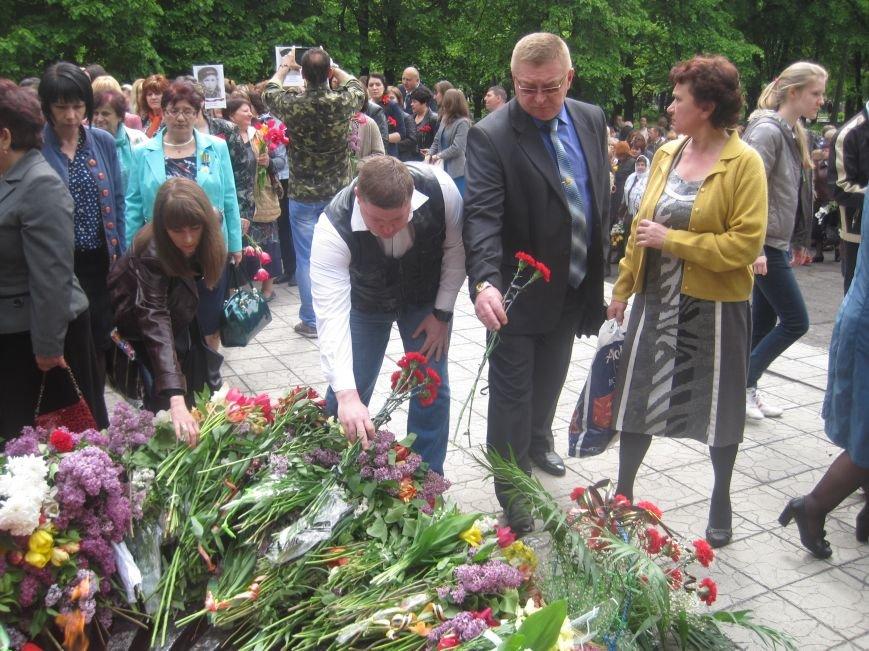 Военнослужащие Добропольского военкомата почтили память погибших в годы Второй Мировой войны, фото-8