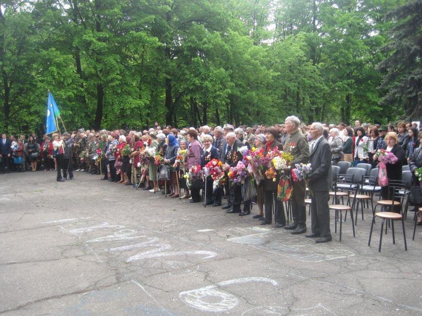 Военнослужащие Добропольского военкомата почтили память погибших в годы Второй Мировой войны, фото-6