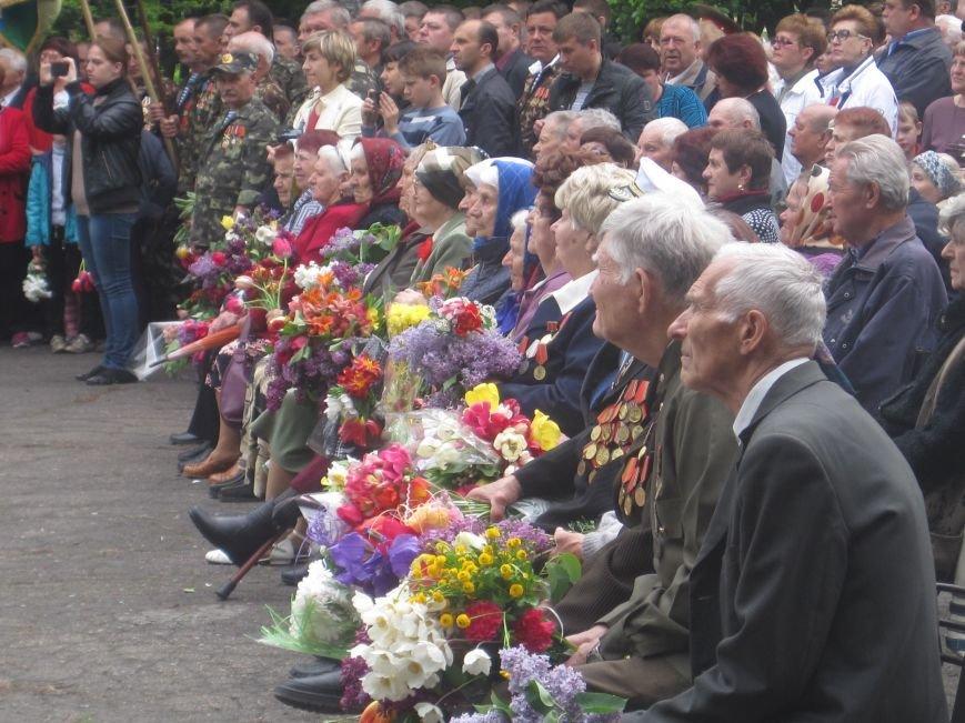 Военнослужащие Добропольского военкомата почтили память погибших в годы Второй Мировой войны, фото-5