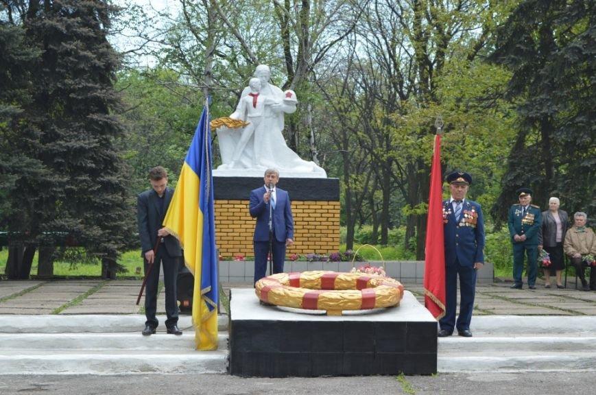 Митинг посвященный 71 летию Победы в городе Белицкое, фото-5