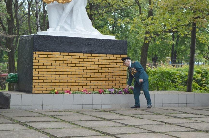 Митинг посвященный 71 летию Победы в городе Белицкое, фото-3