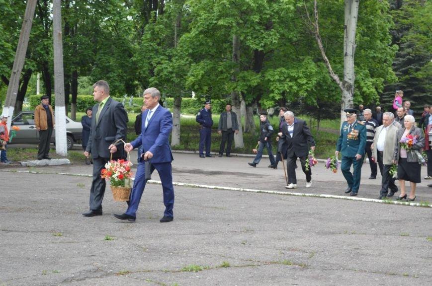 Митинг посвященный 71 летию Победы в городе Белицкое, фото-2