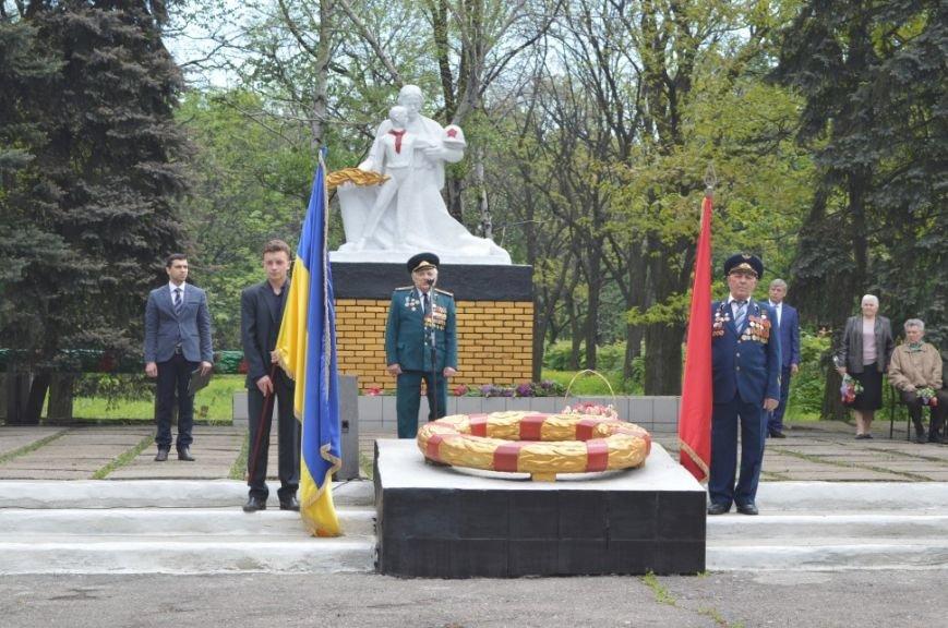 Митинг посвященный 71 летию Победы в городе Белицкое, фото-6